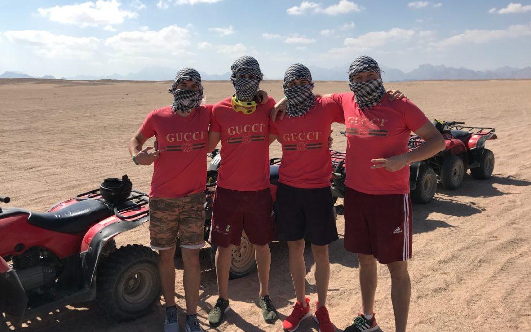 Edzőtábor Egyiptomban