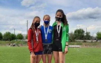 Győzelem, az ÉK területi Atlétikai Bajnokság – 1. fordulóján
